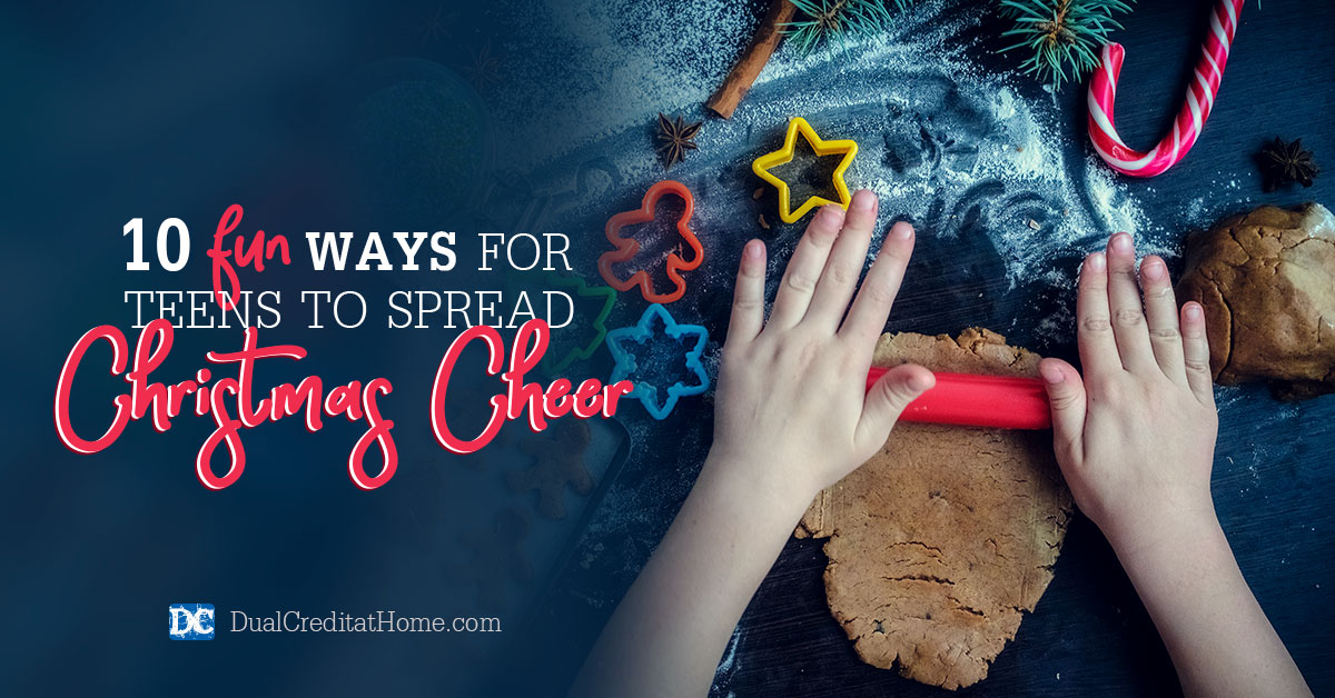 10 Fun Ways for Teens to Spread Christmas Cheer