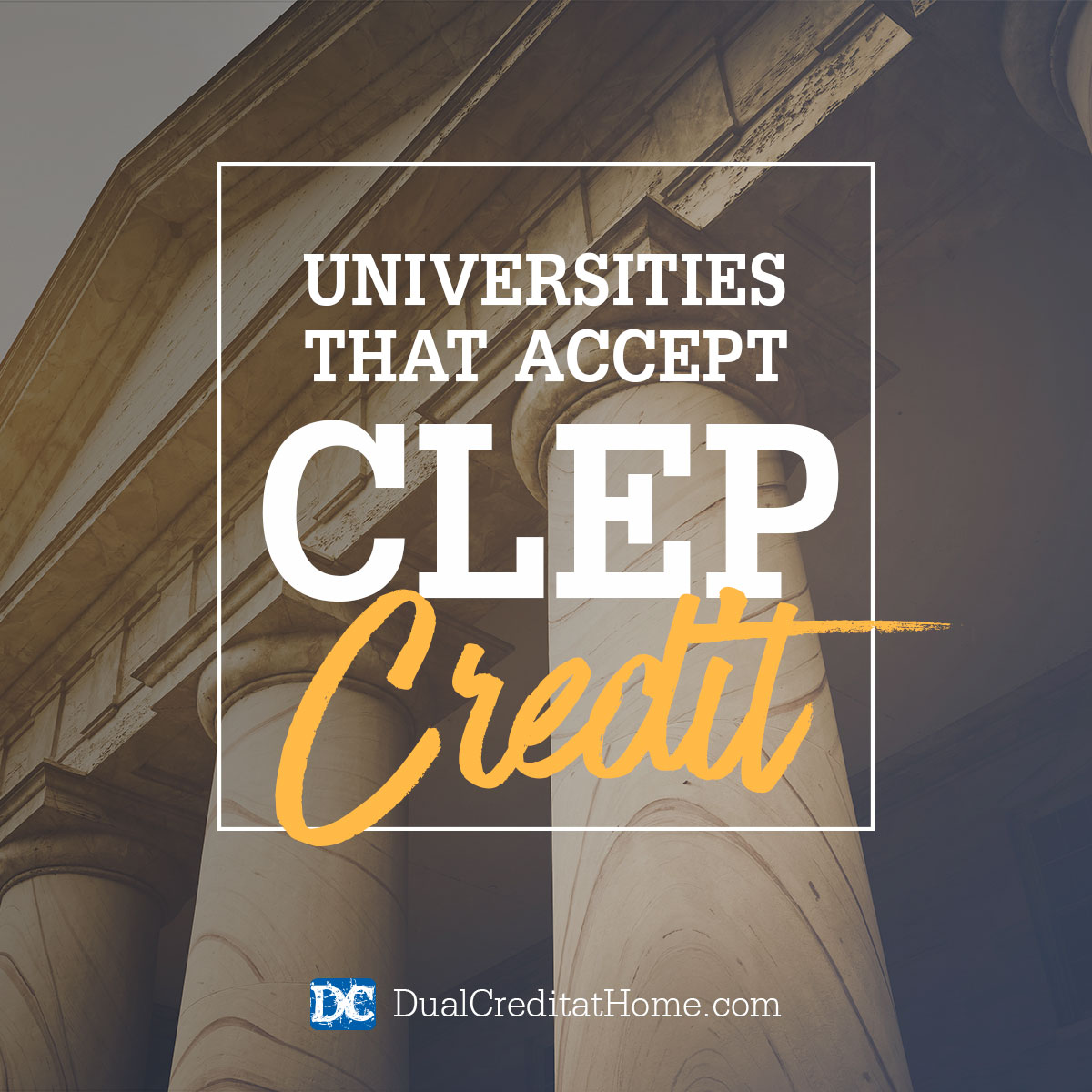 Universities That Accept CLEP Credit