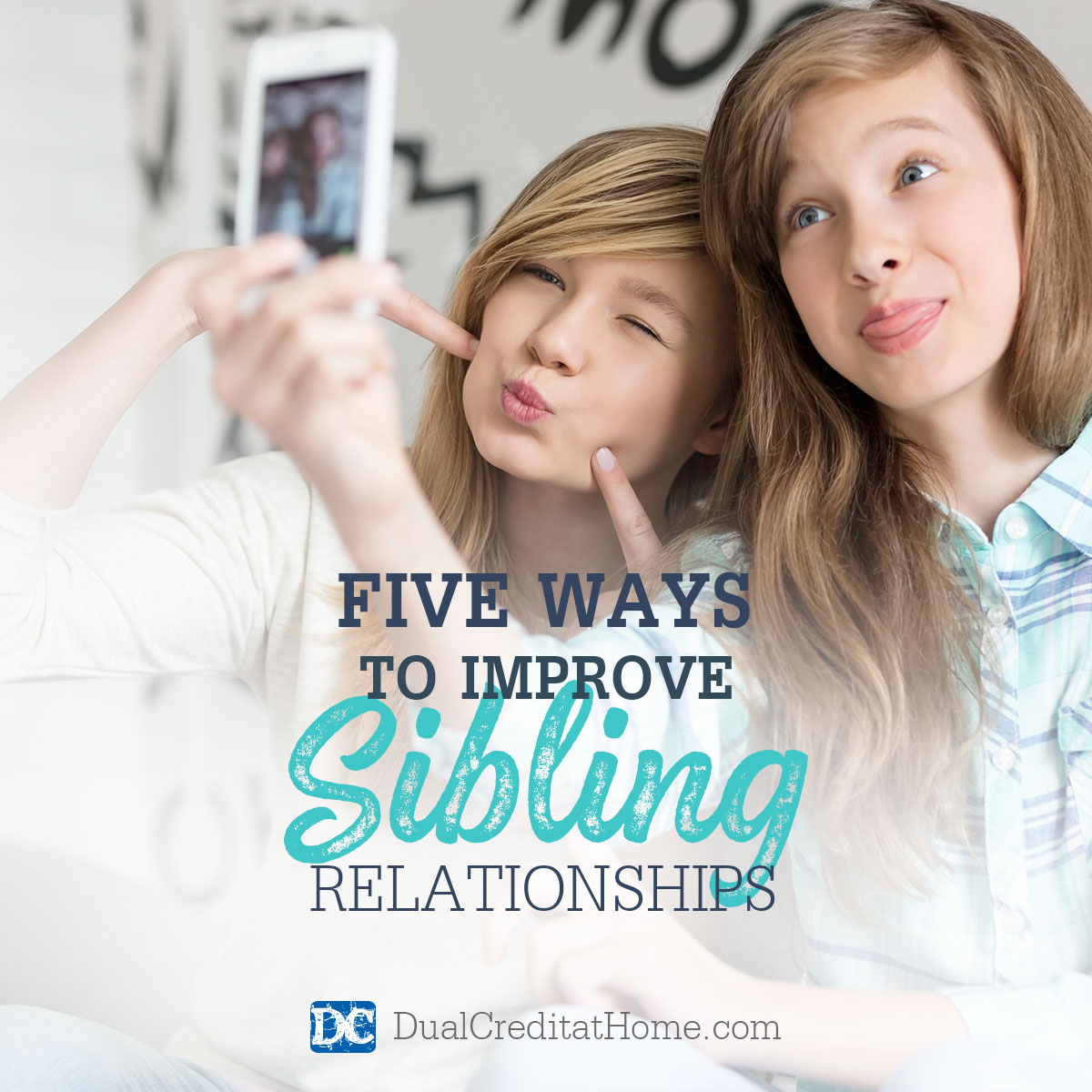 Five Ways to Improve Sibling Relationships